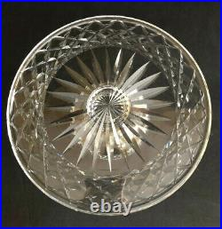 1950s WATERFORD CRYSTAL ALANA COMERAGH 10 PEDESTAL CAKE STAND MADE IN IRELAND