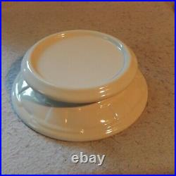2 Piece LONGABERGER Woven Traditions Pottery Pedestal Cake Stand Plate IVORY