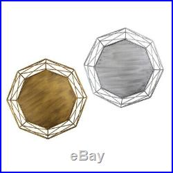 2pc Metal Wire Cake Stand Dessert Wedding Event Party Display Pedestal Plate