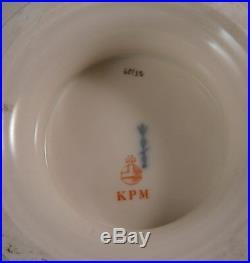 Antique Art Nouveau KPM Berlin Porcelain Fruit Pedestal Plate Porzellan Stand