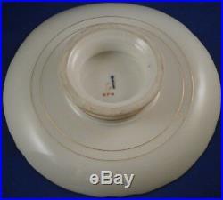 Antique KPM Berlin Neuzierat Porcelain Pedestal Cake Plate Dish Porzellan Tazza
