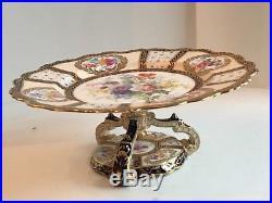 Antique Paragon Queen Mary Handpainted Artist Signed Pedestal Cake Plate 1910  sc 1 st  Pedestal Cake Plate & Antique Paragon Queen Mary Handpainted Artist Signed Pedestal Cake ...
