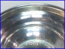 Antique Vintage Sterling Silver Pedestal Cake Plate Candy Dish Compote 196 gr
