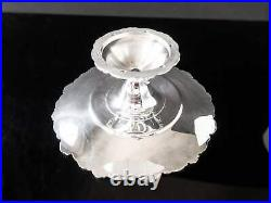 Baroque By Wallace Silver Plate Cake Plate Pedestal Stand