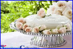 Beatriz Ball Organiz Pearl Cake Pedestal Nova Plate 6412