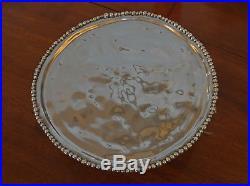 Beatriz Ball Pedestal Organic Pearl Cake Plate