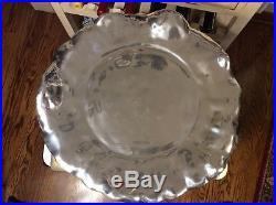 Beatriz Ball Pedestal VENTO Lola Cake Plate Med. 6432 Mexico 16 x 16