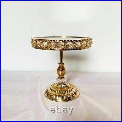 Cake Stand Dessert Cupcake Pastry Display Candy Plate Event Party Metal Pedestal