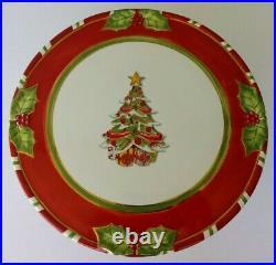 Christopher Radko Letters To Santa Christmas Holiday Pedestal Cake Plate