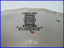 Copeland Spode Florence Pedestal Compote Cake Plate Stand 91/2