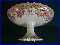 Copeland Spode Spode's Bouquet Large Pedestal Cake Plate