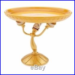 Disney LUMIERE Beauty and the Beast Candlestick Cake Dish Plate Pedestal NEW