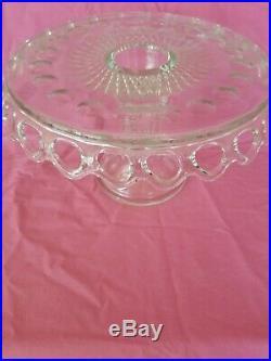 Eapg Pedestal Cake Plate
