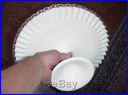 Fenton silvercrest silver crest pedestal cake plate