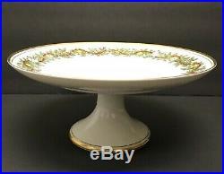 Fitz & Floyd St. Nicholas Pedestal Cake Plate