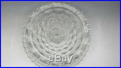 Fostoria American Round 10 Pedestal Cake Plate