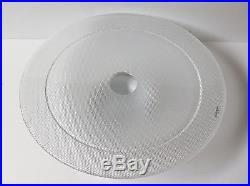Glass Pedestal Cake Plate Kosta Boda Limelight