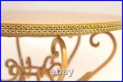 Gold Cake Stand, Scroll Pedestal Stand, Gold Wedding Cake Stand, Gold Cake Plate