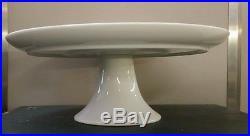 Heinrich GYPSY Pedestal Cake Plate Server Flowers Modern Porcelain Vintage