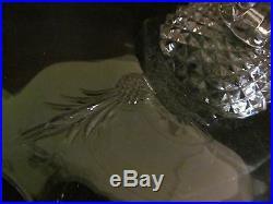 Heisey Plantation Pedestal Cake Plate / Stand Pineapple Design