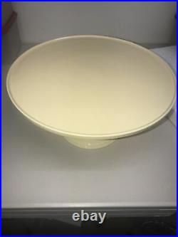 House Of Lloyd Cake Stand Stoneware Round Pedestal Plate 12 Read Des