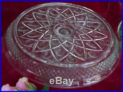 Imperial Glass Cape Cod Pedestal Cake Plate Stand Vintage 1602/160