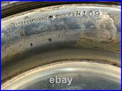 International Heavy Sterling Silver H109 Pedestal Cake Stand Cake Plate 9.5