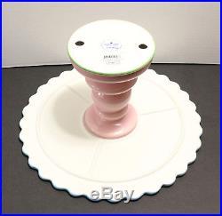 Jonathan Adler SWEET SHOPPE Cake Plate Stand Pedestal Server Pottery 4813440