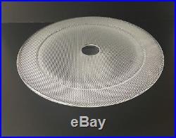 Kosta Boda Limelight Glass Cake Plate WithRinged Pedestal Base
