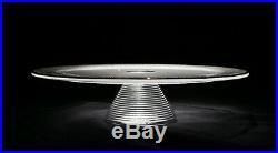 Kosta Boda Limelight Pedestal Cake Plate 79330 Made in Sweden Pristine