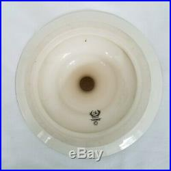 LENOX MING Pedestal Cake Plate Compote Footed Dish Cherry Blossom Black Mark