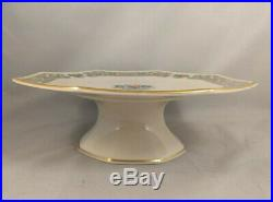 Lenox Autumn Footed Pedestal Cake Plate