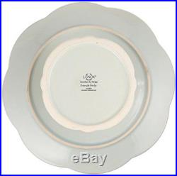 Lenox French Perle Pedestal Cake Plate, Medium, Ice Blue FREE2DAYSHIP TAXFREE