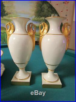 Lenox Queens Garden Vase, Beaumont Cake Plate, Carolina Pitcher, Hayworth Coffe