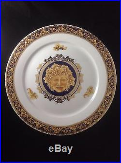 Limoges France Bacchus Porcelain Pedestal Serving Cake Dessert Plate@ 12 x 4