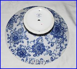 Lomonosov Singing Garden 22K Gold Trim Russia 10 Compote Pedestal Cake Plate