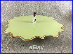 Luxury Cake Stand LObjet Pedestal Serving Plate Seahorse Coral