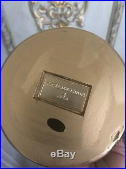 Mackenzie Childs Courtly Check Mini Cake Plate w Pedestal (with Cloche) New in Box