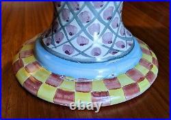 Mackenzie-Childs Taylor Fluted Cake Stand / Pedestal-Keukenhof