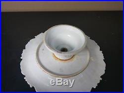 Meissen Footed Pedestal Scalloped Cake Plate Stand 12 MAKE OFFER