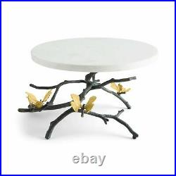Michael Aram Butterfly Ginko Cake Stand (Footed Cake Plate/ Pedestal Server)