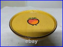 Mid-century Modern Georges Briard Pedestal Cake Stand Pie Pan Tray Dish Plate