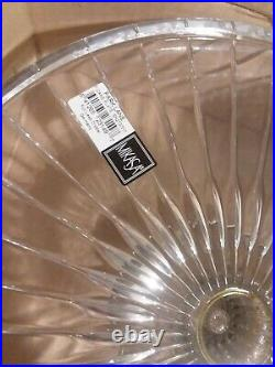 Mikasa Park Lane Crystal Pedestal Footed Cake Plate 12 New with Tag