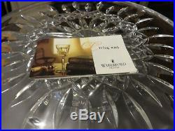 New In Box Waterford Lismore 11 Pedestal Cake Plate Mint