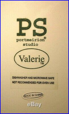 PS Portmeirion Studio Valerie 12 Pedestal Cake Stand & 4-Dinner Plates M4683