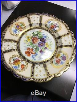 Paragon Queen mary Pedestal Cake Plate And Regular Cake Plate