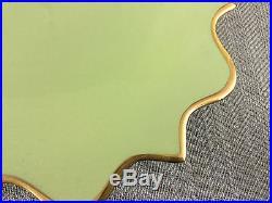 Porcelain Cake Stand LObjet Pedestal Serving Plate Platter Seahorse Coral