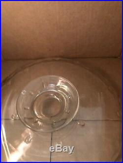 Princess House 12 Pedestal Cake Plate With Dome LID Cover