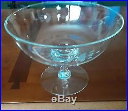 Princess House Heritage Hostess Dome Cake Plate, Pedestal Bowl & Vase