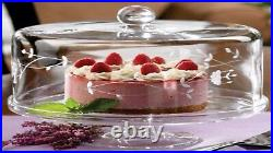 Princess House Heritage Pedestal Cake Plate 6255 HTF